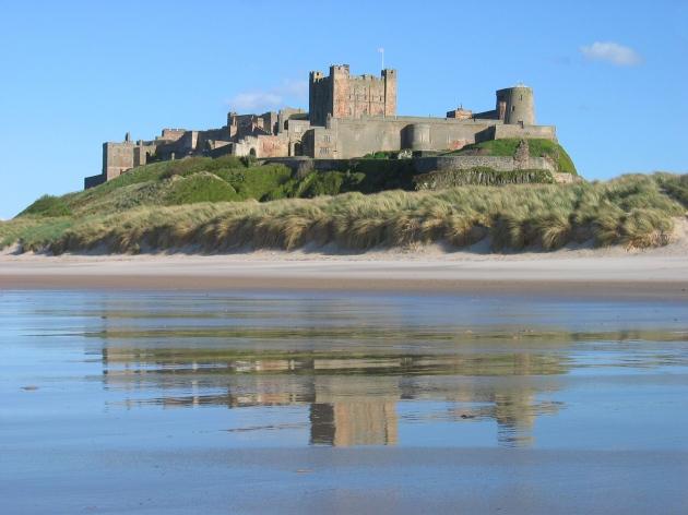http://en.wikipedia.org/wiki/Bamburgh_Castle