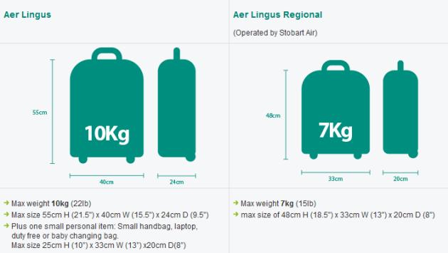 bag allowance