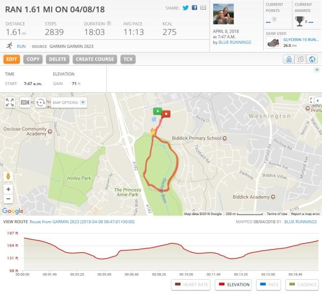 Run Map 1